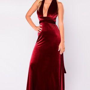Dresses & Skirts - Velvet Maxi NWT